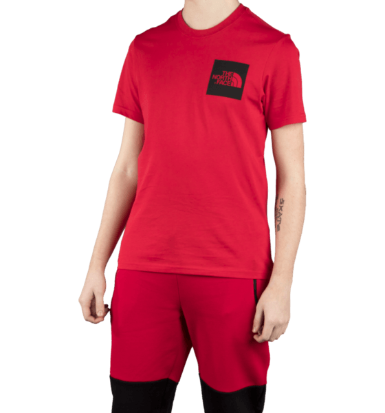 The North Face M S/s Fine Tee T-shirts RED