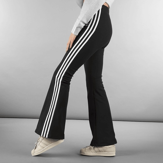 custom timeless design 2019 best sell W FLARED TRACK PANTS