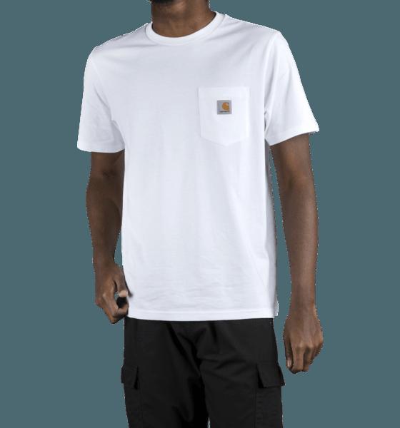 Carhartt M U S/s Pocket T-shirt T-shirts WHITE