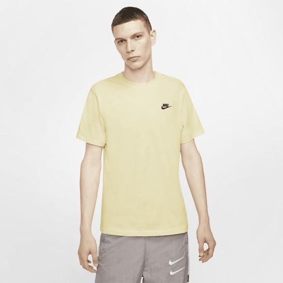Nike M Club Tee T-shirts COCONUT MILK/WHITE
