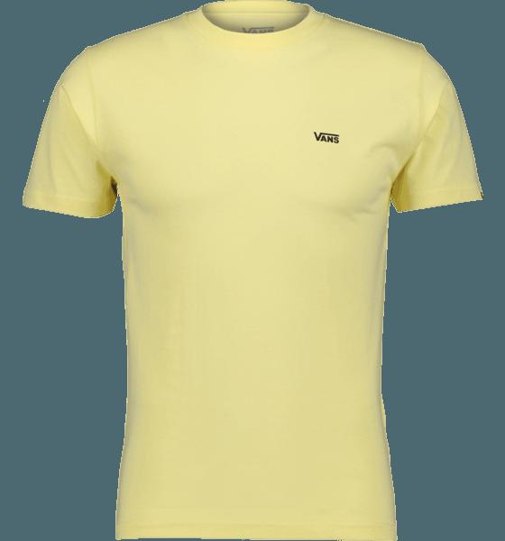 Vans M Left Chest Logo Tee T-shirts MELLOW YELLOW