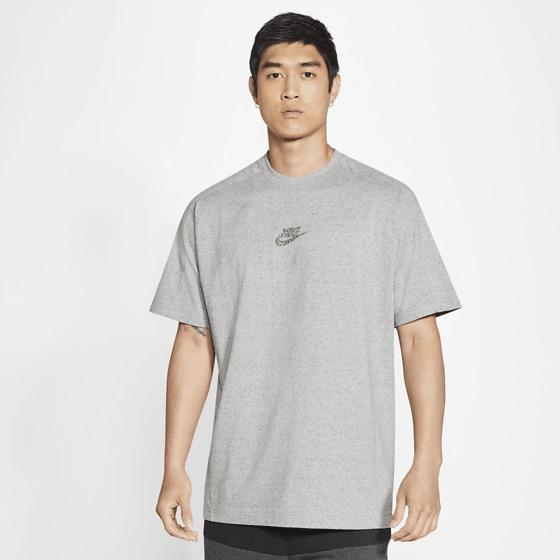 Nike M Nsw Ss Jsy Top T-shirts BLACK/HTR