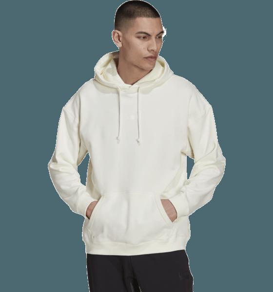 Adidas Originals M R.y.v. Logo Hoody Hoodies OFF WHITE