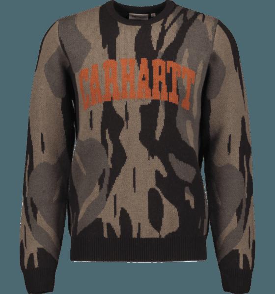 Carhartt M University Script Sweater Tröjor CAMO UNITE